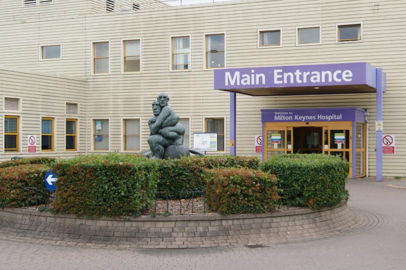 Installation at Milton Keynes University Hospital